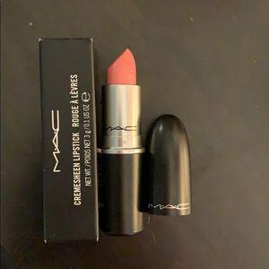 Mac lipstick-long legged & fabulous.